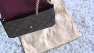 getlinkyoutube.com-LV Pochette Felicie