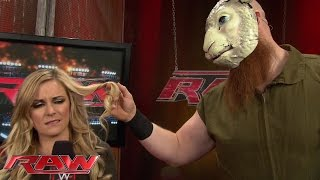 getlinkyoutube.com-Erick Rowan has his eye on Renee Young: Raw, Nov. 3, 2014
