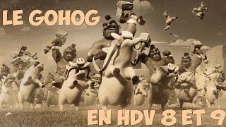 getlinkyoutube.com-[TUTO FR] Le Gohog (golem-cochons) en HDV 8 et 9 | 100% facile en GDC ! | Clash of Clans FR