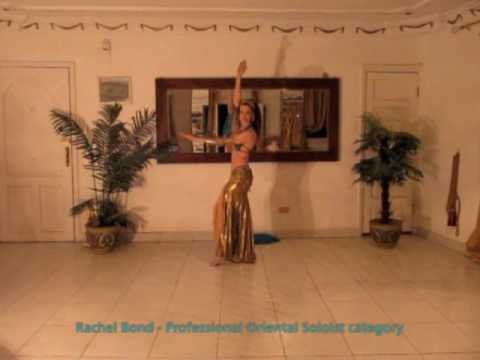 Rachel Bond - Belly Dance 2010 Award winning performance