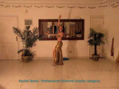 Rachel Bond - Belly Dance 2010 Award winning performance