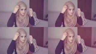 getlinkyoutube.com-🌟Hijab Tutorial-35🌟 Cara Memakai Jilbab Pashmina Simple and Casual (Up to date)