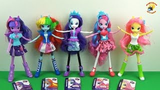 getlinkyoutube.com-Рейнбоу Деш - кукла пони из коллекции Eqvestria Girls Collection, MLP «Equestria Girls»