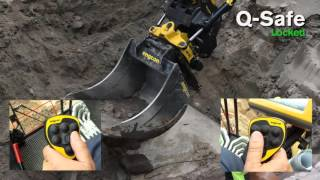 getlinkyoutube.com-engcon EC30 tiltrotator with Q Safe quick coupler + EC Oil auto oil connection