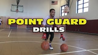 getlinkyoutube.com-Point Guard Drills (ft Ibn Muhammad) - Coach Godwin Ep: 118 - Basketball Drills