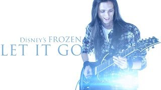 getlinkyoutube.com-★ Let It Go  - Disney's Frozen - Rock Version [Guitar]