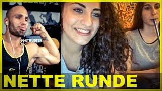 getlinkyoutube.com-Schlauch im Mund & Bizeps Pose auf Chatroulette - Flying Uwe