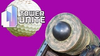 getlinkyoutube.com-GOLF WITH CANNONS! | Tower Unite