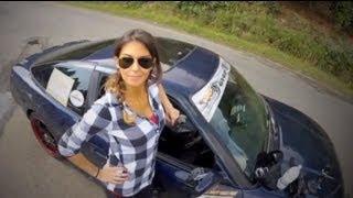 getlinkyoutube.com-Girl Drift's Japan (Ebisu Japan) Alessandra Rossi with Anthony West