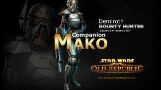 getlinkyoutube.com-SWTOR: Bounty Hunter - Mako Romance Conversations