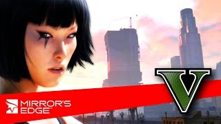 getlinkyoutube.com-Mirror's Edge in GTA V - GTA Parkour Free Running