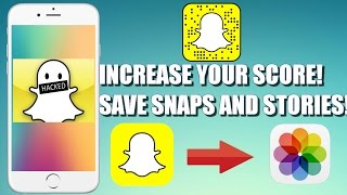 getlinkyoutube.com-*NEW* How To Hack Snapchat! - Increase your score! Save Snaps and Stories!   NO JAILBREAK   NO PC  