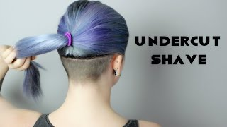 getlinkyoutube.com-UNDERCUT SHAVE!!