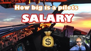 How big is a pilots salary?