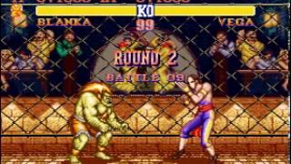 Street Fighter II - The World Warrior (SNES) - Blanka (Hardest)