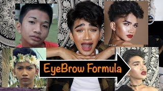 getlinkyoutube.com-How I got my Eyebrows Back ! - Bretman Rock