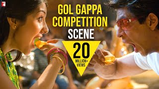 Scene: Rab Ne Bana Di Jodi | Gol Gappa Competition - Aaj No Limit | Shah Rukh Khan | Anushka Sharma
