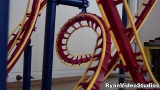 getlinkyoutube.com-HD CoasterDynamix Phoenix Roller Coaster Model Footage