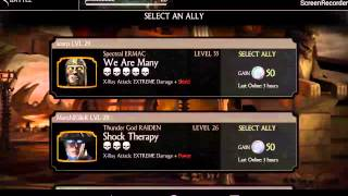 getlinkyoutube.com-Mkx mobile all hacked koins, maxed out characters