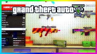 getlinkyoutube.com-GTA 5 Awesome Cut Beta Content - Weapon Camos, Riot Shields & Programable AR's (GTA 5 Gameplay)