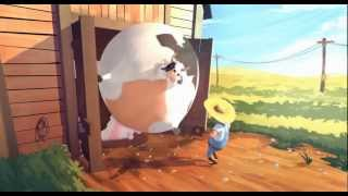 getlinkyoutube.com-Fat - farm animals get fat- the animation HD