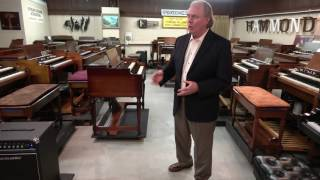 getlinkyoutube.com-Rent to own a Hammond with Leslie for your Church at Keyboard Exchange International