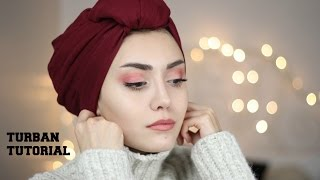getlinkyoutube.com-PRATİK ŞAL BAĞLAMA #2    Easy Turban Style HijabTutorial