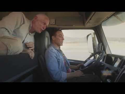 Jean-Claude Van Damme in Volvo Trucks' THE EPIC SPLIT
