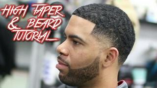 getlinkyoutube.com-High Taper & Beard Haircut Tutorial! with ripples on top 😂
