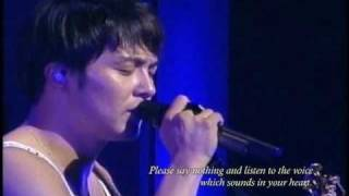 getlinkyoutube.com-Park Yong Ha ~ STARS ~ 2010 Concert Tour - Last Song [sub]