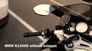getlinkyoutube.com-BMW K1300S without and with Akrapovic exhaust sound