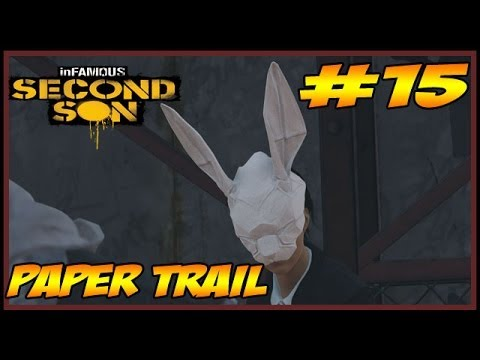 inFAMOUS SECOND SON - PAPER TRAIL - Parte #15 - GENERAL ASSASSINADO!