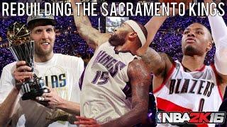 getlinkyoutube.com-NBA 2K16 MyLEAGUE: Rebuilding the Sacramento Kings!