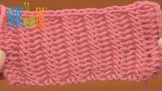 getlinkyoutube.com-Beautiful Double Sided Knit Stitch Pattern Tutorial 20 Easy to Knit Stitches