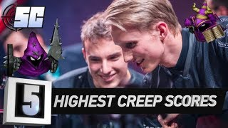 5 Highest Creep Scores in LoL History | LoL eSports