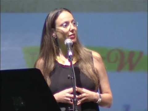 אורית וולף למצוא את הצליל האישי כנס נשים ועסקים דה מרקר 2010