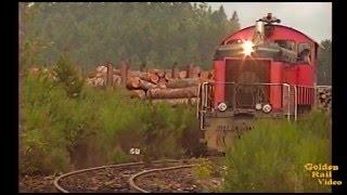 getlinkyoutube.com-Simpson Railroad #900 leaving their dry sort yard.