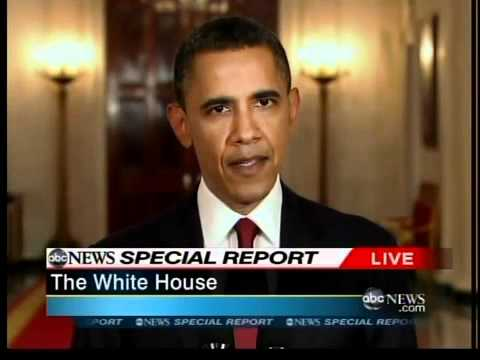 President Obama announces U.S. has killed Osama Bin Laden