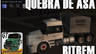 getlinkyoutube.com-GRAND TRUCK SIMULATOR, 113 EQUIPADA NO BITREM DANDO QUEBRA DE ASA