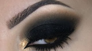 getlinkyoutube.com-♡ Black Smokey Eye ♡ Make Up ♡