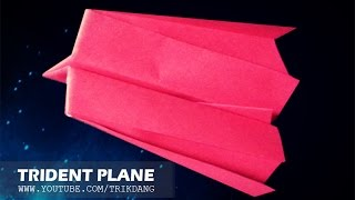 getlinkyoutube.com-Best Paper Planes: How to make a paper airplane that Flies for Kids| Trident
