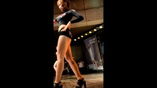 getlinkyoutube.com-27-06-2015 밤비노(BAMBINO)  Minhee (민희) dance 1 and 2 Migliore Dongdaemun (밀리오레 동대문점) fancam (직캠)