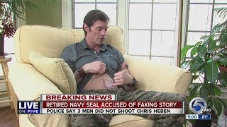 getlinkyoutube.com-5PM: Bath Twp. Police: Former Navy SEAL Chris Heben lied about getting shot at West Market Plaza