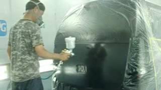 getlinkyoutube.com-ワゴンR缶スプレー塗装の手直し。PPG.AutoREFINISH(有)愛新車体IWATA.WS400