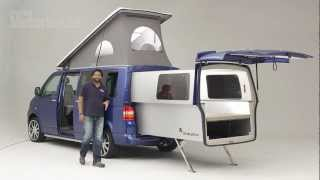 getlinkyoutube.com-Practical Motorhome Doubleback VW Camper review