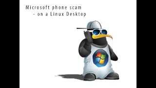 getlinkyoutube.com-Windows phone scam on a Linux Desktop