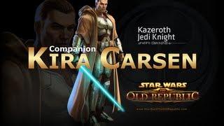 getlinkyoutube.com-SWTOR: Jedi Knight - Kira Carsen Romance Conversations