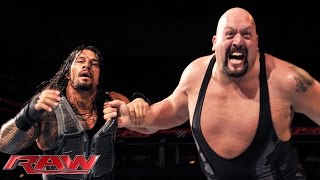 getlinkyoutube.com-Roman Reigns vs. Big Show: Raw, December 22, 2014