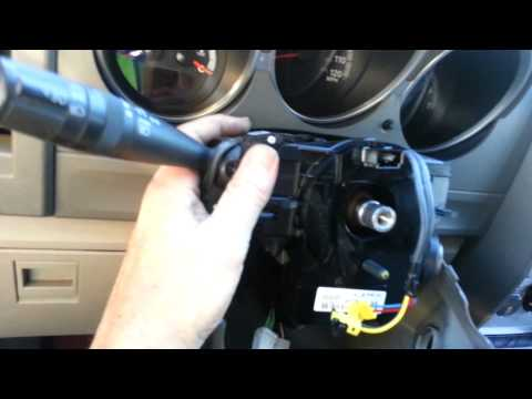 2007 Dodge Nitro Clockspring replacement removal