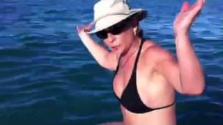 "getlinkyoutube.com-Practicando Suping ""Stand Up Paddle Board"". Dra Ana María Polo"